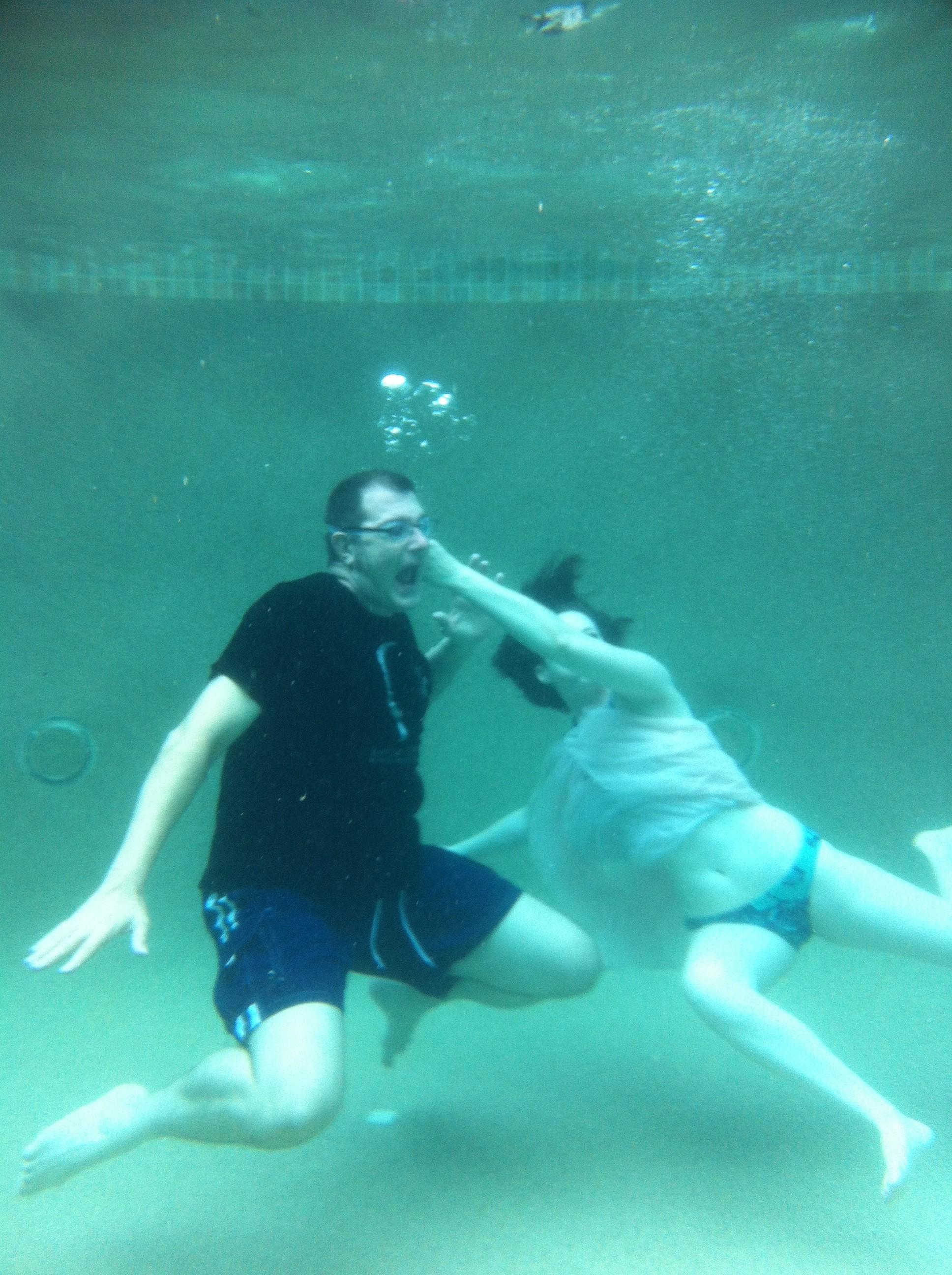 cuffed drowns teen